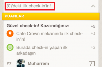 Foursquare de Türkçe öğrenmeli